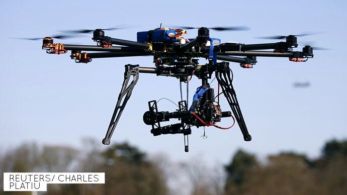 Droner, framtiden er her